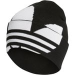 adidas Originals Adicolor Large Trefoil Beanie Black/White