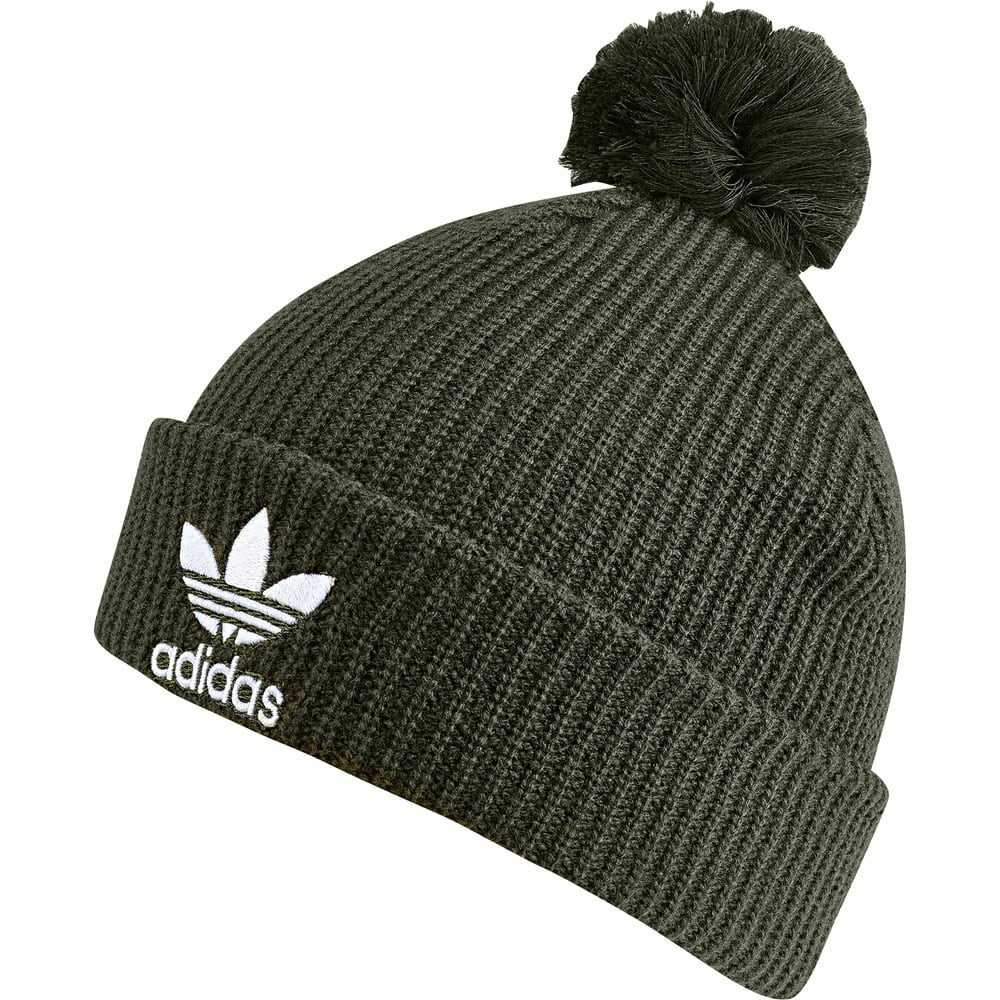 adidas Originals Pom Pom Beanie Muetze Night Cargo