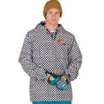 Analog Caldwell Anorak Snowboardjacke Stout White Speed Check