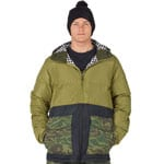 Analog Herren-Snowboardjacke Olive Branch/True Black