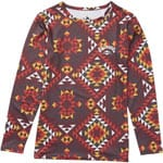 Billabong Warm Up Tech Tee Damen-Langarmshirt Navajo Red