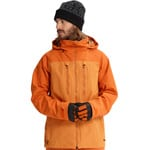 Burton AK Swash Jacket Herren-Snowboardjacke Golden Oak