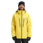 AK Burton Gore-Tex Hover Stretch Jacket Maize