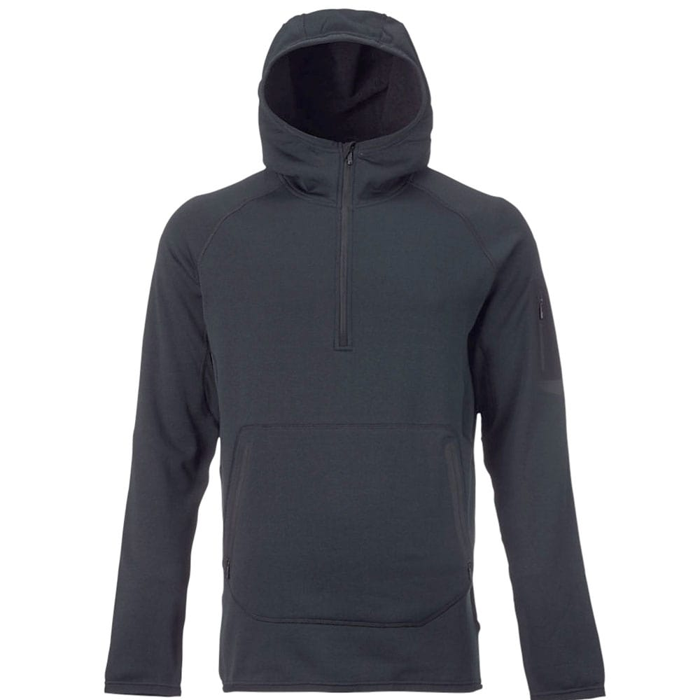 Burton AK Piston Hoodie Herren-Funktionsfleece True Black