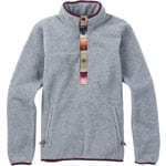 Burton Anouk Fleece Pullover Damen-Fleece Monument Heather