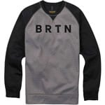 Burton Bonded Crew Herren-Fleecepullover Monument Heather