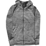 Burton Dawn Hooded Fleece Damen-Zipjacke Gray Heather