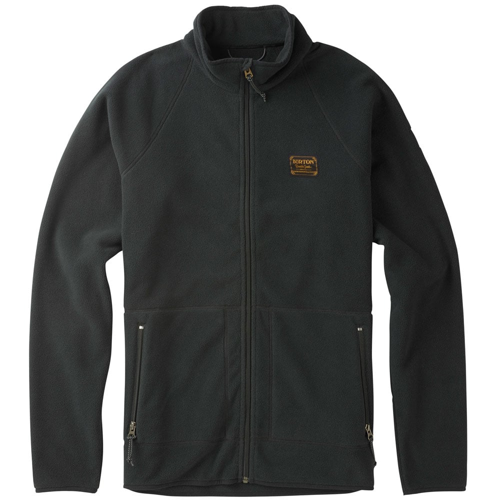 Burton Ember Fleece Herren-Fleecejacke True Black