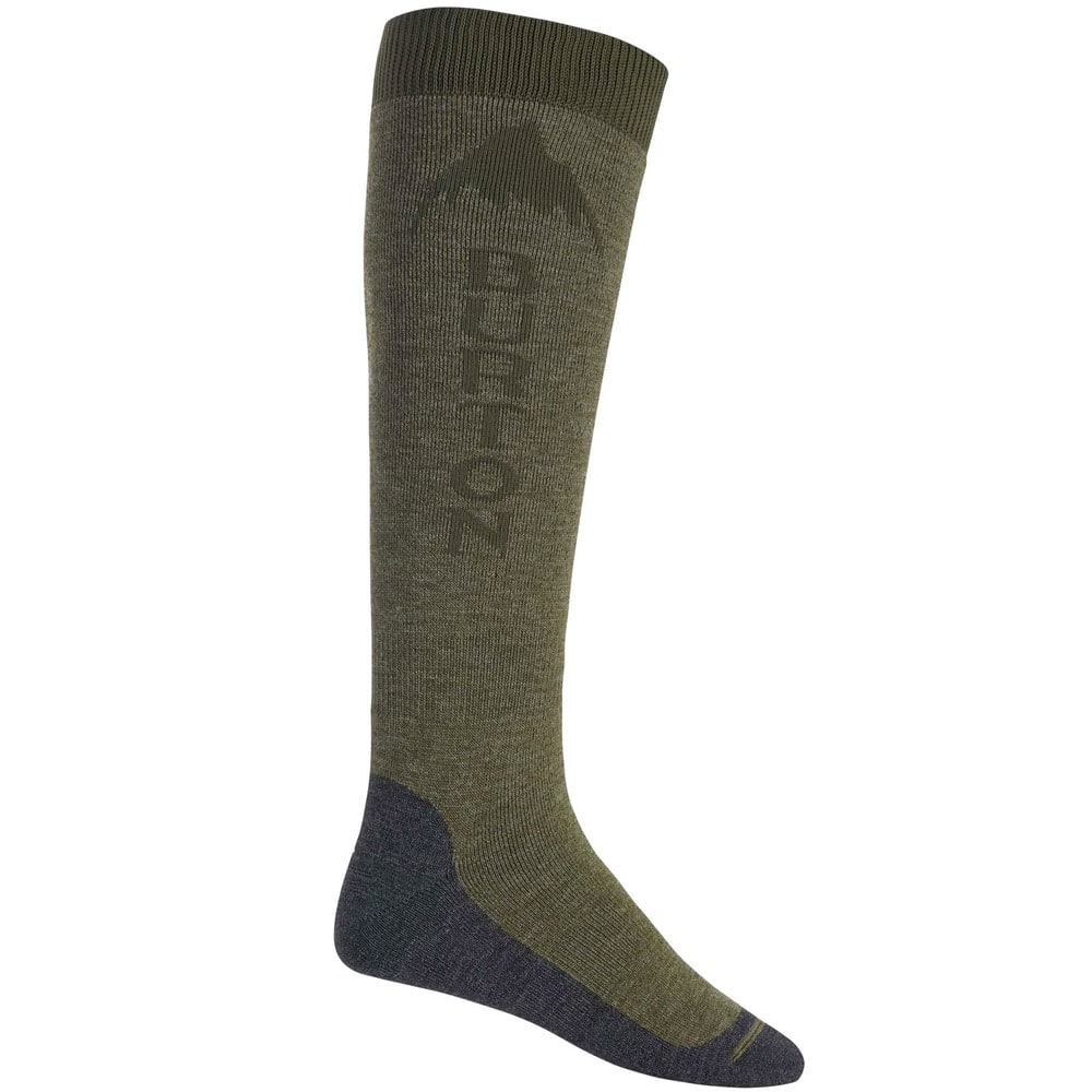 Burton MB Emblem Sock Herrensocken Olive Branch Heather