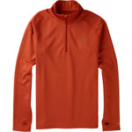 Burton Expedition 1/4 Zip Herren-Funktionswaesche-Shirt Picante