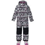Burton Girls Minishred Illusion One Piece Skianzug Sun Doodle