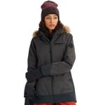 Burton Lelah Jacket Damen-Snowboardjacke True Black Heather