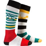 Burton Weekender Socks MB Two Pack (Rasta)
