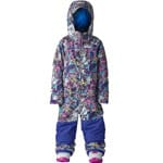 Burton Girls Minishred Illusion One Piece Skianzug Animalia