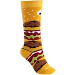 Burton Youth Party Sock Skisocken Burger Deeluxe