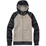 Burton Scoop Damen-Hoody Dove Heather