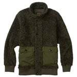 Burton Tanker Fleece Jacket Herrenjacke Olive Night