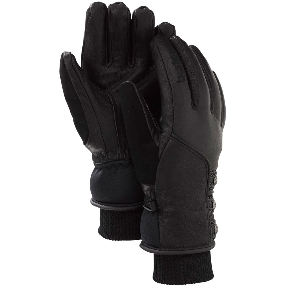 Burton Favorite Leather Glove Women True Black
