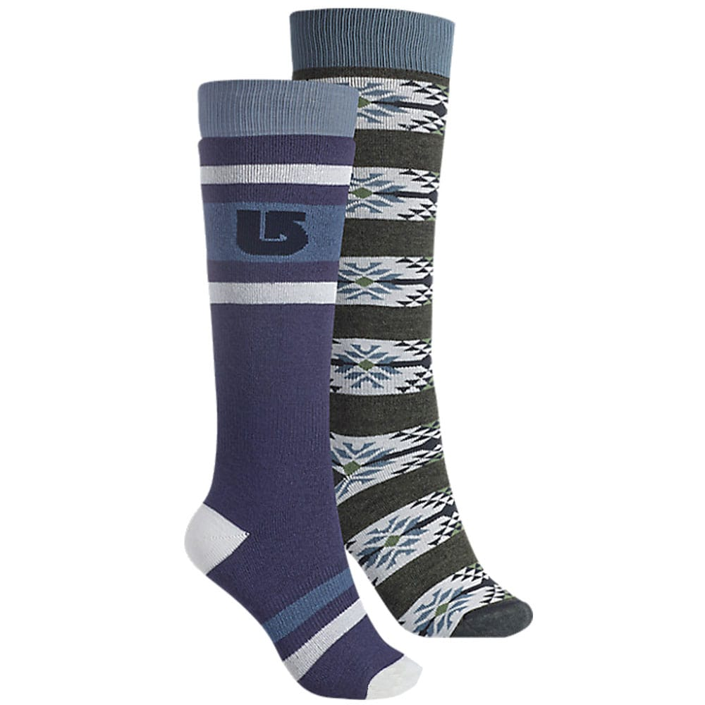 Burton Weekender Socks WB Two Pack (Mood Indigo)