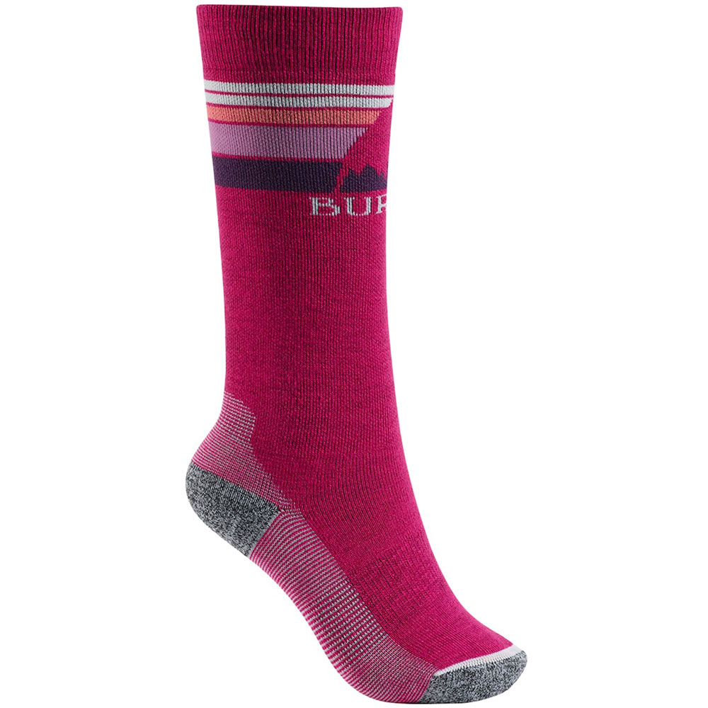 Burton Youth Emblem Midweight Kinder-Socken Sea Pink