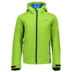 Campagnolo Boy Softshell Jacket Skijacke Lime Green-River