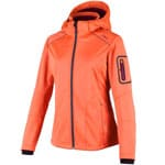 Campagnolo Woman Softshell Jacket Skijacke Tangeri/Berry
