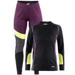 Craft Be Active Damen-Baselayer-Set Tune/Dark Grey
