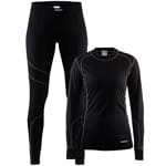 Craft Be Active Damen-Baselayer-Set Black