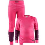Craft Be Active Junior-Baselayer-Set Fantasy/Tune
