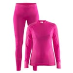 Craft Womens Seamless Zone 2-pack Damen-Funktionswaesche Smoothie/Pop
