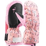 Leki Little Flamingo Zap Mitten Kinder-Skihandschuhe Rose Pink