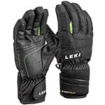 Leki Nico Junior Gloves Kinder-Skihandschuhe Black/Lime