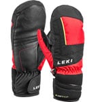 Leki Nico Junior Mitten Kinder-Skihandschuhe Red/Black-Yellow