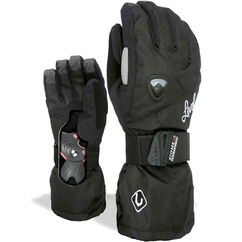 Level Butterfly Glove Handschuhe Black