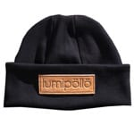 Lumipoelloe Sokosti Label Beanie Black Natural