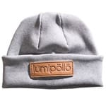 Lumipöllö Sokosti Label Beanie Light Grey Natural