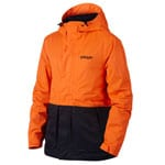 Oakley Highline Bio Zone Shell Herren-Snowboardjacke Neon Orange