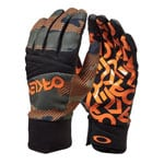 Oakley Factory Park Glove Handschuhe Warning Camo