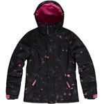 Oneill Dazzle Jacket Kinder-Snowboardjacke Black/Red