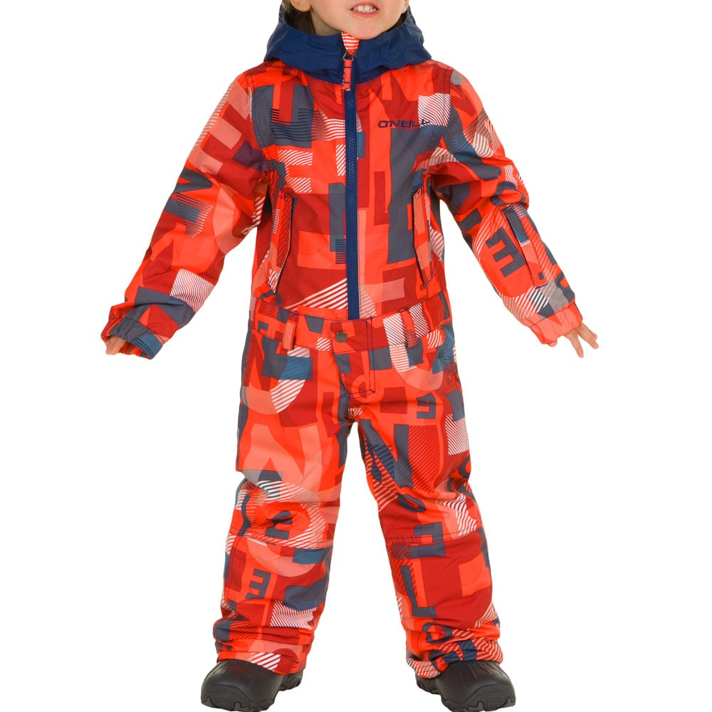 oneill powder fullsuit overall red fun sport vision. Black Bedroom Furniture Sets. Home Design Ideas