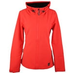 Oneill Solo Softshell Damen-Softshell Poppy Red
