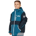 Picture Slope Jacket Kinder-Snowboardjacke Petrol Blue