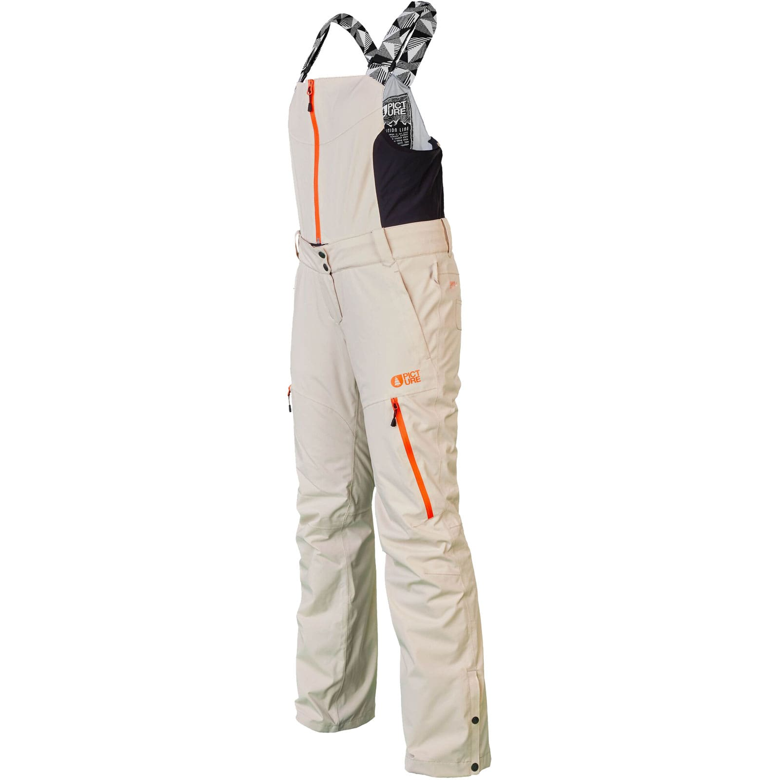 Picture Ticket Pant Damen-Snowboardhose Beige