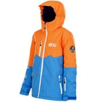 Picture Tommy Jacket Kinder-Snowboardjacke Orange/Blue
