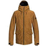 Quiksilver Drift Jacket Herren-Snowboardjacke Golden Brown