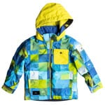 Quiksilver Little Mission Kids Kinder-Snowboardjacke Blue Sulphur