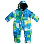 Quiksilver Little Rookie Baby Suit Kinder-Skianzug Blue Sulphur Icey