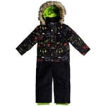 Quiksilver Rookie Kids Schneeanzug Black Maoam Tatt