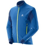 Salomon Momemtum Softshell Jacket M Herren-Funktionsjacke Union Blue