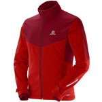 Salomon Pulse Herren-Softshelljacke Matador-X/Victory Red